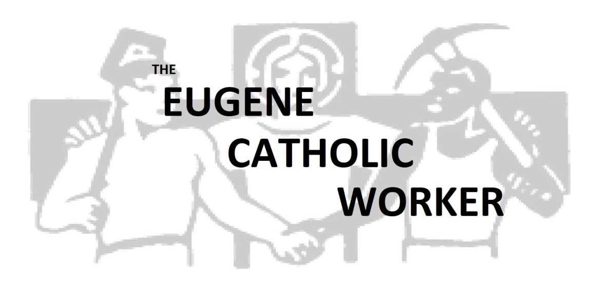CATHOLIC WORKER BANNER